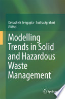 Modelling Trends In Solid And Hazardous Waste Management book