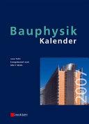 Bauphysik Kalender