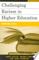 Challenging Racism in Higher Education