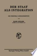 Der Staat als Integration