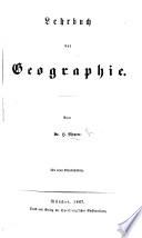 Lehrbuch der Geographie     Mit einer Eisenbahnkarte