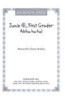 Junie B   first grader