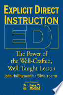 Explicit Direct Instruction Edi