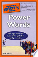 The Complete Idiot s Guide to Power Words