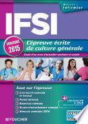 IFSI L'épreuve écrite de culture générale - Concours 2015 -