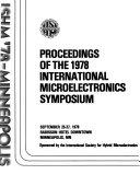Proceedings of the     International Microelectronics Symposium