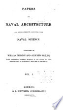 Papers on Naval Architecture and Other Subjects Connected with Naval Science