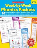 Week by Week Phonics Packets