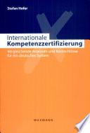 Internationale Kompetenzzertifizierung