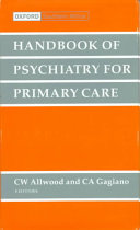 Handbook of Psychiatry for Primary Care