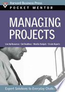 Managing Projects : task achieve its goal - on...