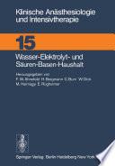 Wasser-Elektrolyt- und Säuren-Basen-Haushalt