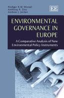 Environmental Governance in Europe