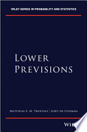 Lower Previsions