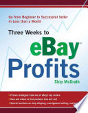 Three Weeks to Ebay Profits