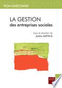 illustration du livre La gestion des entreprises sociales