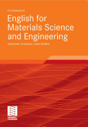 English for Materials Science and Engineering