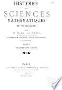 Histoire Des Sciences Math  matiques Et Physiques  De Diophante    Vi  te