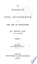 The Rudiments of Civil Engineering