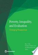 Poverty  Inequality  and Evaluation