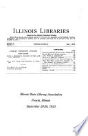 Illinois Libraries Free download PDF and Read online