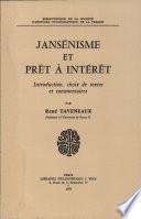 Jansenisme Et Pret a Interet