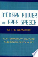 Modern Power and Free Speech
