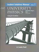 University Physics Student Solutions Manual