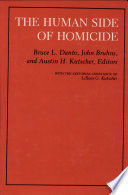 The Human Side Of Homicide