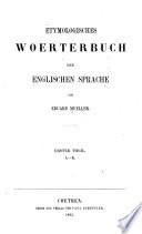 Etymologisches Wörterbuch der englischen Sprache