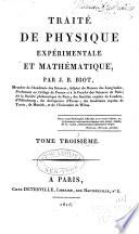 Trait   de physique exp  rimentale et math  matique