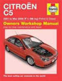 Citroen C5 Owner S Workshop Manual