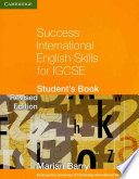 Success International English Skills for IGCSE Student's Book English As A Second Language E2l