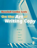 On the Art of Writing Copy All Right Here Everything You Need
