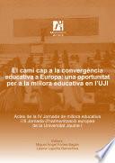 El camí cap a la convergència educativa a Europa