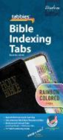 Rainbow Bible Indexing Tabs Old   New Testament