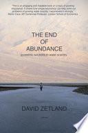 The End of Abundance