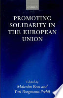 Promoting Solidarity in the European Union