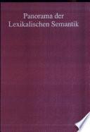 Panorama der lexikalischen Semantik