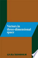 Vectors in Three Dimensional Space