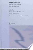 Dollarization book