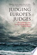 Judging Europe   s Judges