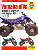 Yamaha Atvs Banshee Warrior And Raptor 350