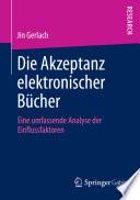Die Akzeptanz elektronischer B  cher