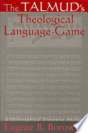 The Talmud s Theological Language Game