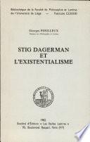 Stig Dagerman et l existentialisme