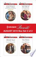 Harlequin Presents August 2015   Box Set 2 of 2