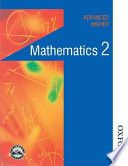 Maths in Action   Advanced Higher Mathematics 2