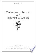 Technology Policy and Practice in Africa