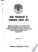 Ringkasan riwayat hidup dan riwayat perjuangan anggota Majelis Permusyawaratan Rakyat hasil pemilihan umum tahun 1977. 2 v